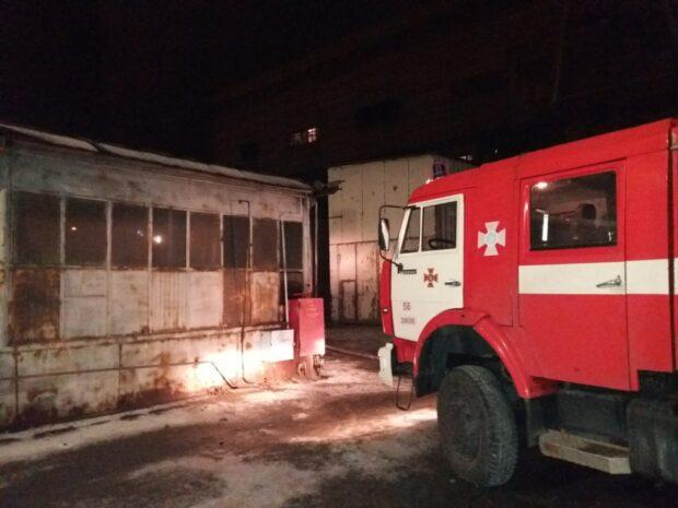В Харьковской области горела Змиевская ТЭС
