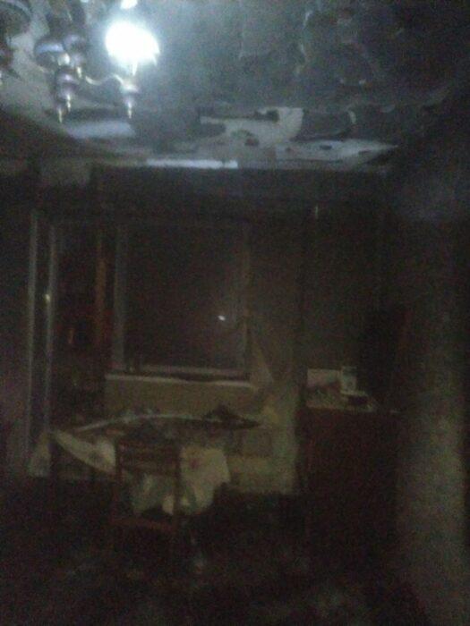 В поселке под Харьковом на пожаре погиб мужчина