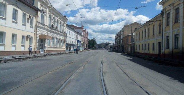 Участок Московского проспекта в районе площади Фейербаха открыт для проезда