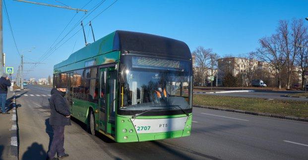 В Жихарь начали ходить троллейбусы с автономным ходом
