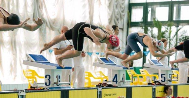 Харьковские пловцы выиграли восемь золотых медалей на чемпионате Украины
