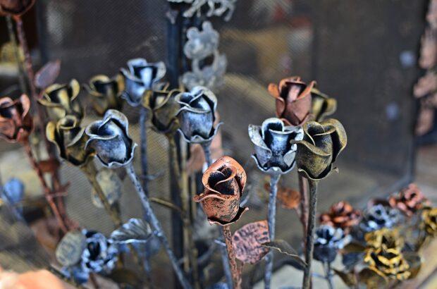 розы металл
