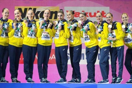 Харьковские синхронистки выиграли домашний чемпионат Украины