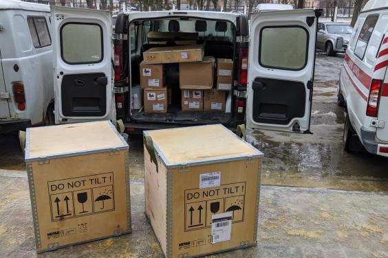 Опорные больницы Харьковщины получили медицинское оборудование на 24 млн гривень