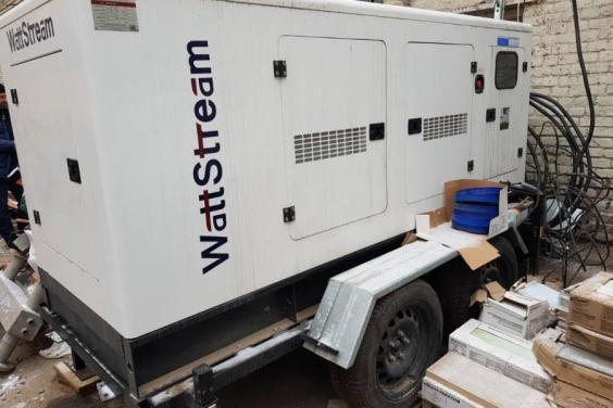 17 опорных больниц Харьковской области получили генераторы бесперебойного питания