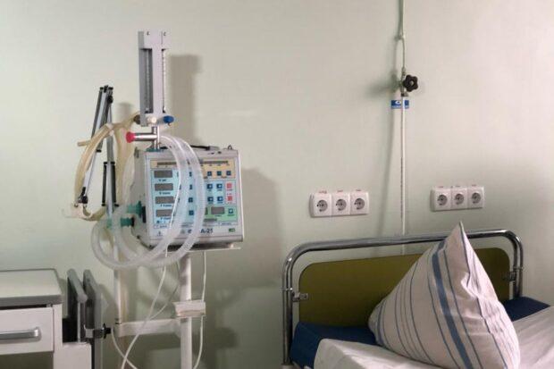 В опорных больницах Харьковской области 2500 свободных коек для пациентов с COVID-19