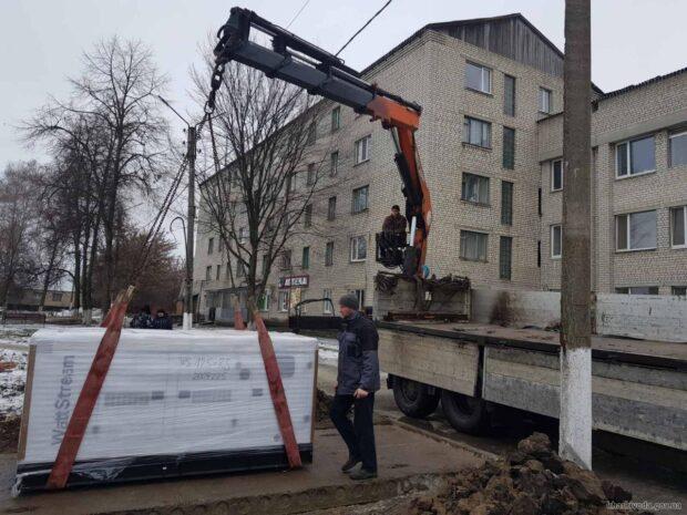 В Харьковской области установили первые 4 генератора в опорных больницах