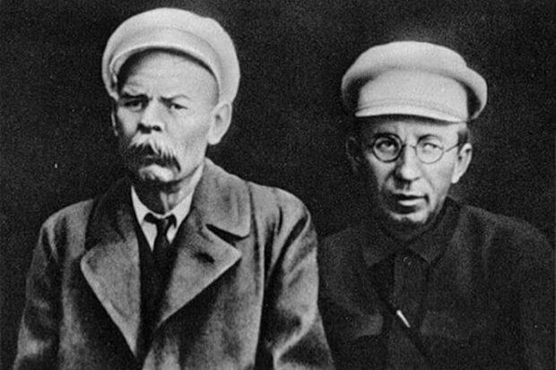 Антон Макаренко и Максим Горький