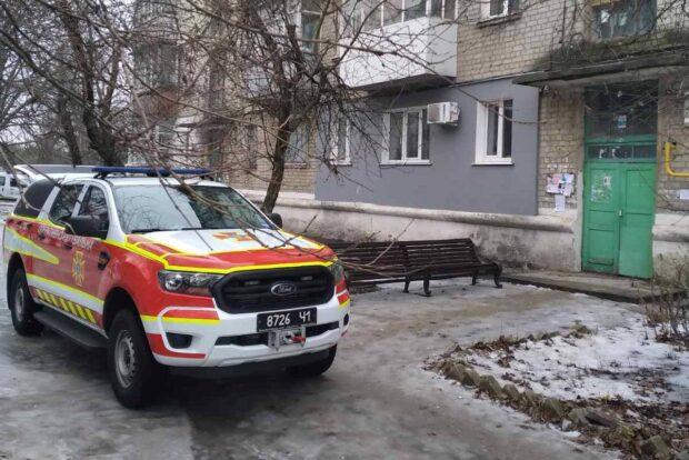В Харьковской области спасатели помогли пожилой женщине у которой случился инсульт
