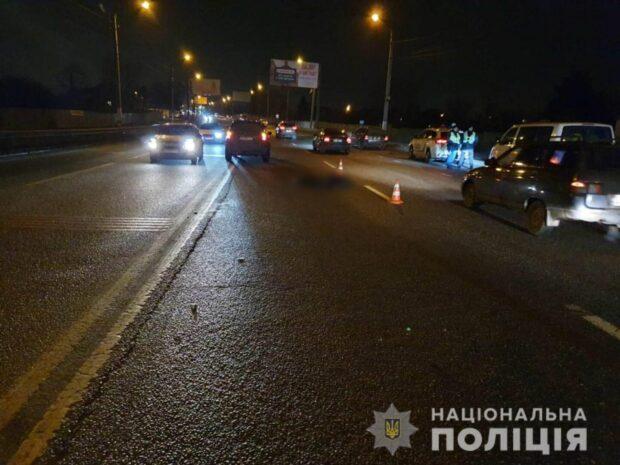 Под Харьковом насмерть сбили пешехода