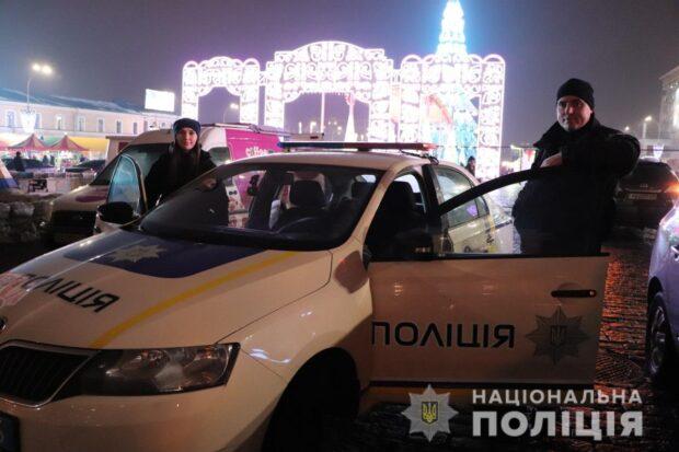 Новый год в центре Харькова встретили около 4 тысяч людей - полиция