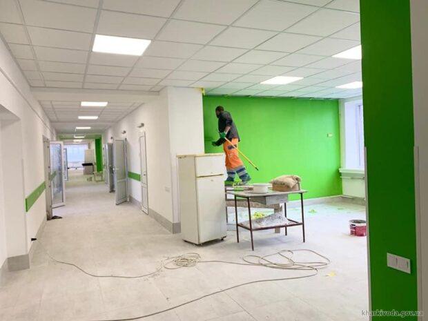 В Харьковской областной детской клинической больнице №1 отремонтировали два отделения
