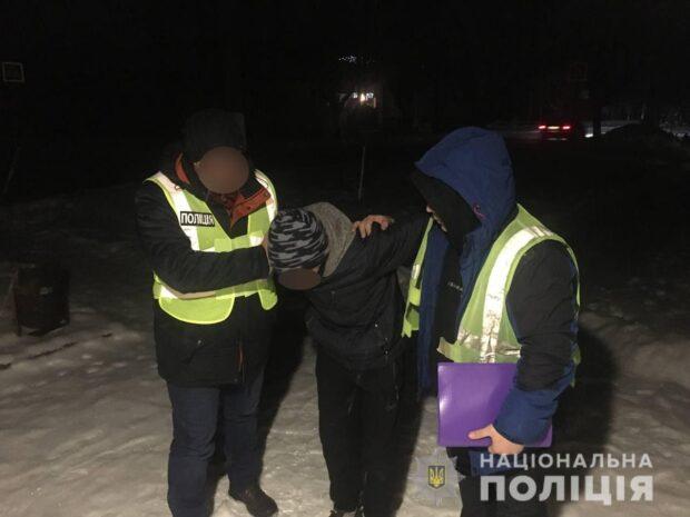 В Харьковской области задержали мужчину, который угрожая ножом грабил женщин