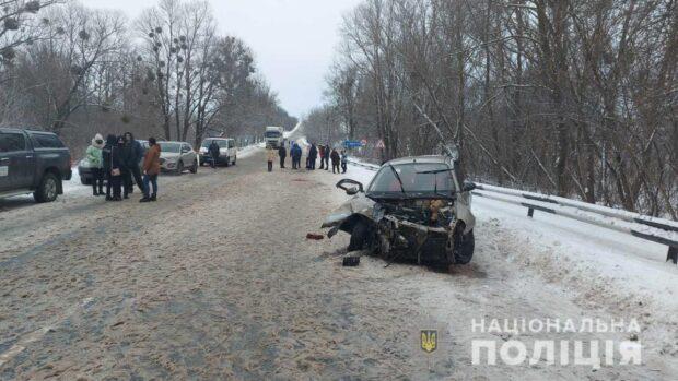 В Харьковской области в результате автокатастрофы погибло две женщины