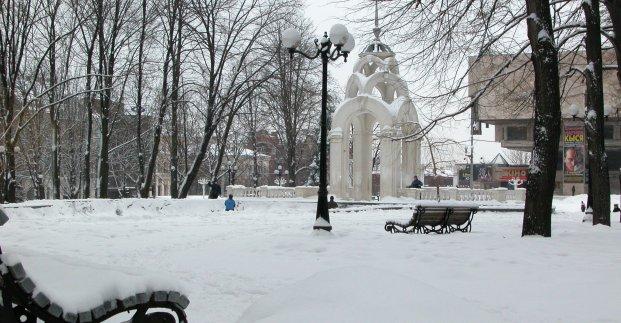 Завтра в Харькове - до 4 градусов мороза