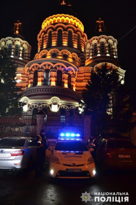 Полиция просит харьковчан соблюдать карантинные ограничения на Рождество
