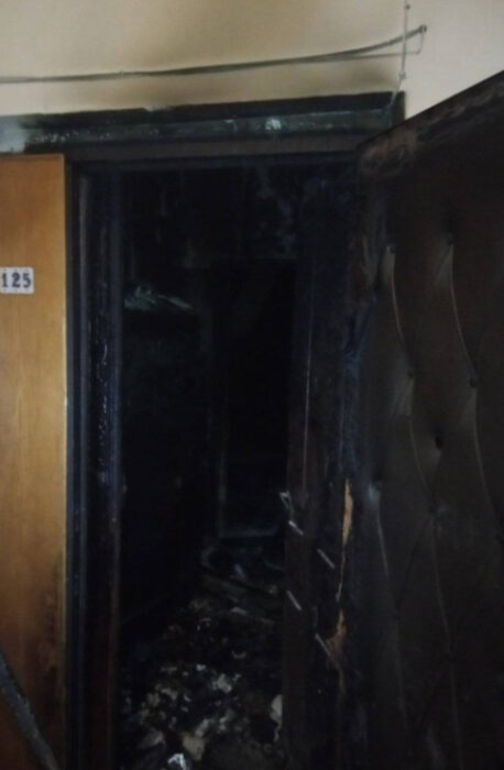 В центре Харькова горела квартира: пенсионерка получила ожоги и отравление угарным газом