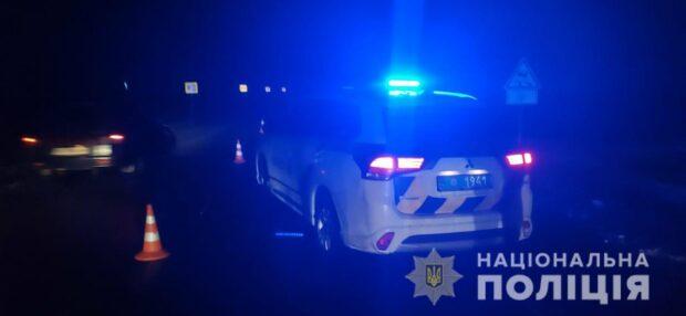 Под Харьковом водитель автомобиля переехал женщину, которая лежала на проезжей части