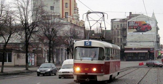 Трамваи №5 и 6 не будут ходить до конца мая, а троллейбус №2 возобновит основной маршрут