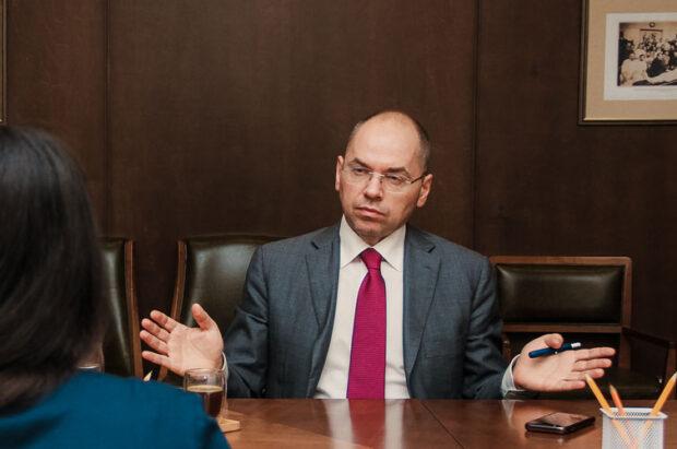 Министр МОЗ сказал, что у украинцев было достаточно времени, чтобы заблаговременно купить носки и футболки