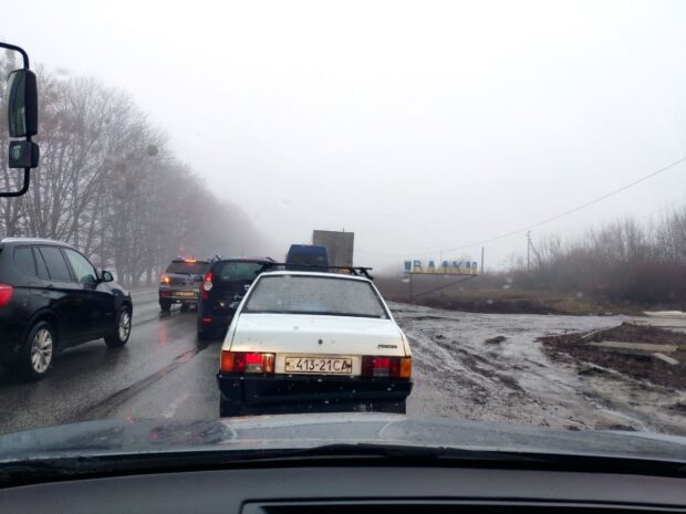 Акция протеста в Харьковской области из-за повышения тарифов на газ закончилась: движение восстановлено