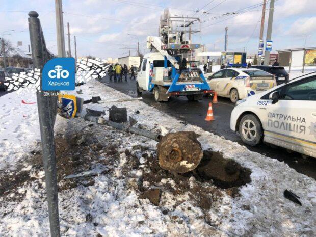 В Харькове в результате столкновения двух автомобилей погиб пешеход