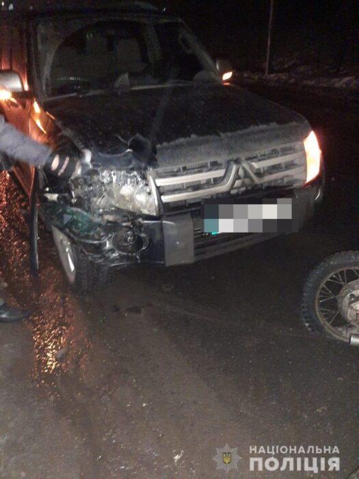 Под Харьковом в результате ДТП погибла пассажирка мотоцикла