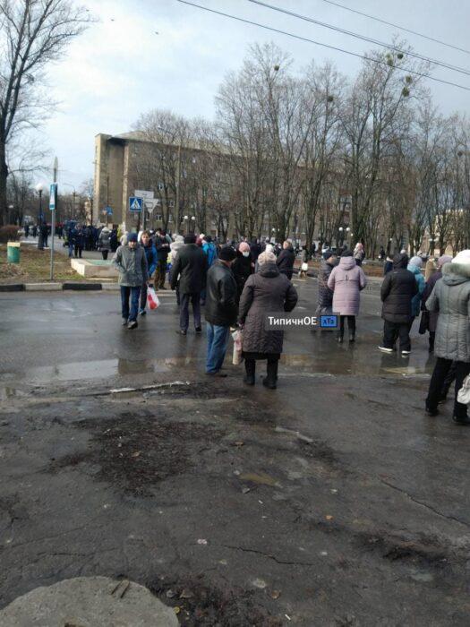 Терехов прокомментировал перекрытие дороги на ХТЗ
