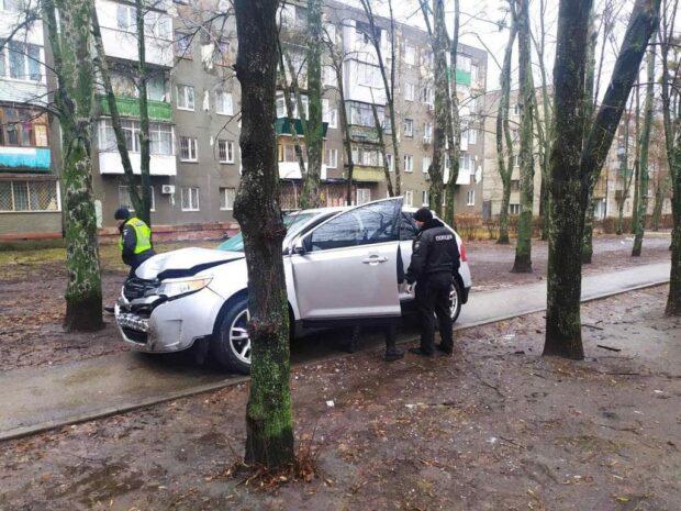 В Харькове пьяный водитель насмерть сбил пешехода и скрылся с места ДТП