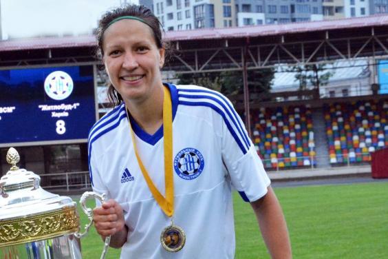 Харьковская спортсменка стала лучшей футболисткой Украины