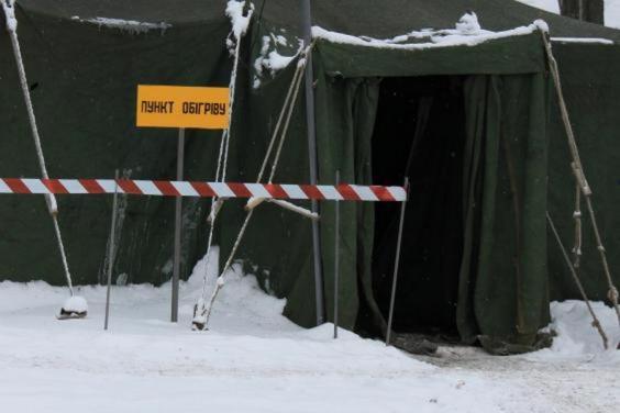 На период значительного похолодания на территории Харьковской области откроют около 450 пунктов обогрева