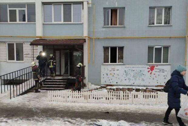 В Харькове горел частный центр раннего развития