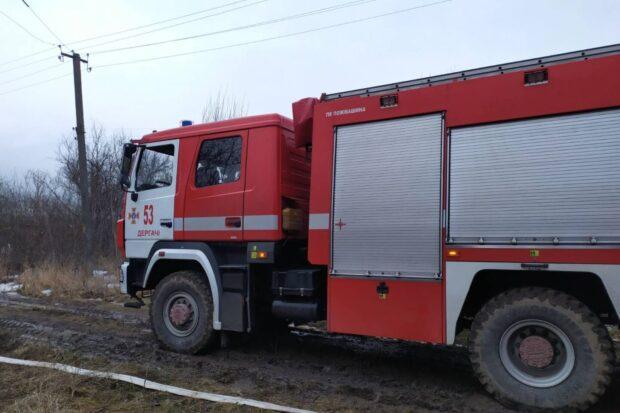 В Харьковской области на пожаре в частном доме погиб человек