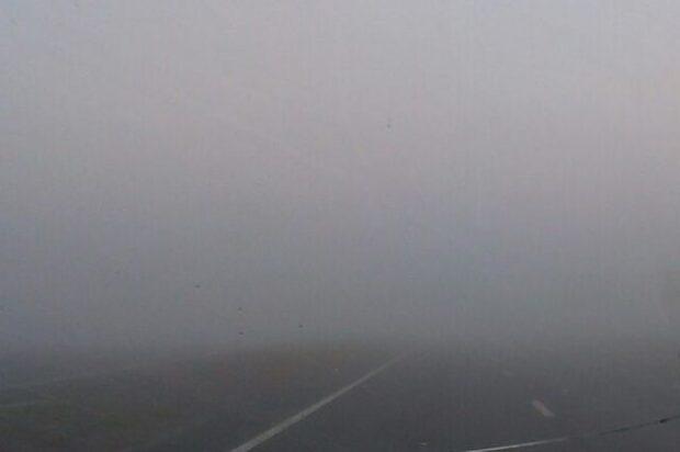 На дорогах Харьковской области 2-3 февраля будет низкая видимость из-за тумана