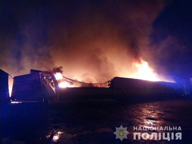 По факту пожаров в Харькове полиция открыла уголовные производства