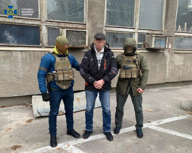 Контрразведка СБУ задержала в Харькове агента ФСБ РФ (видео)
