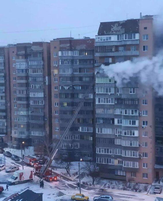 В Харькове горела квартира в 14-этажном доме: погиб мужчина