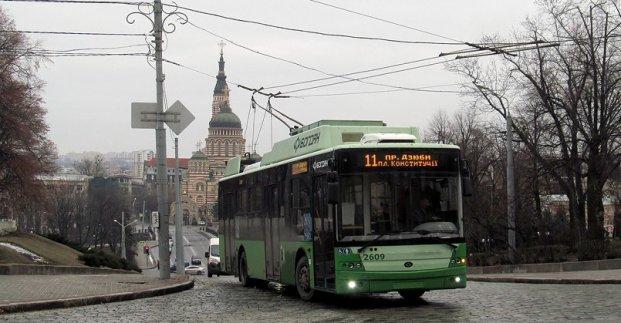 В четверг троллейбус №11 изменит маршрут движения