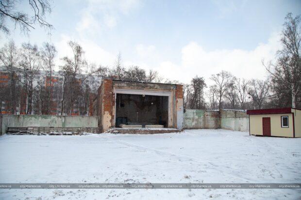 Весной начнут реконструировать парк Маяковского в районе ХТЗ