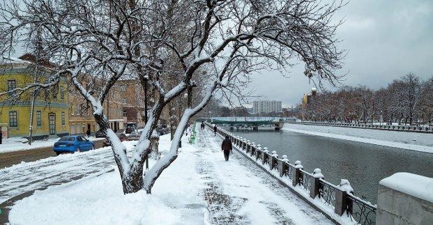 Завтра в Харькове - до 7 градусов тепла