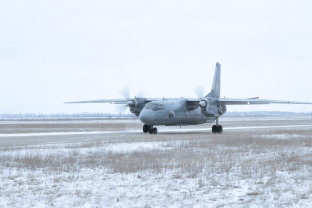 Под Харьковом возобновили полеты Ан-26 после авиакатастрофы