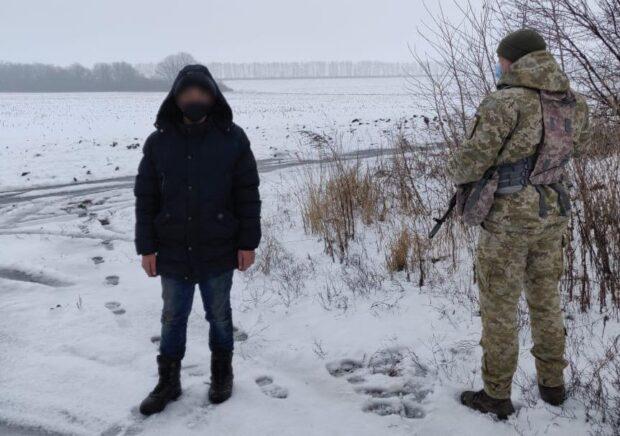 В Харьковской области на границе остановили подростка, который направлялся в Москву