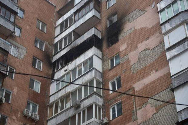 Из квартиры на проспекте Гагарина, где случился пожар, перед возгоранием услышали хлопок