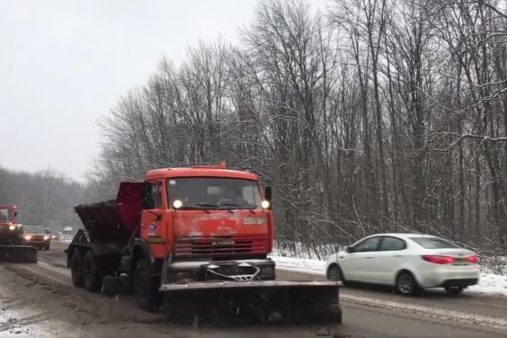 В Харьковской области ограничений движения из-за осадков нет - дорожники