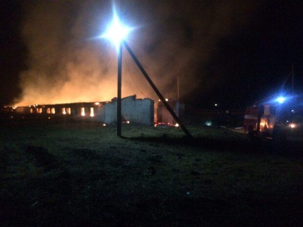 На Харьковщине трое вымогали деньги и подожгли ферму: им сообщили о подозрении