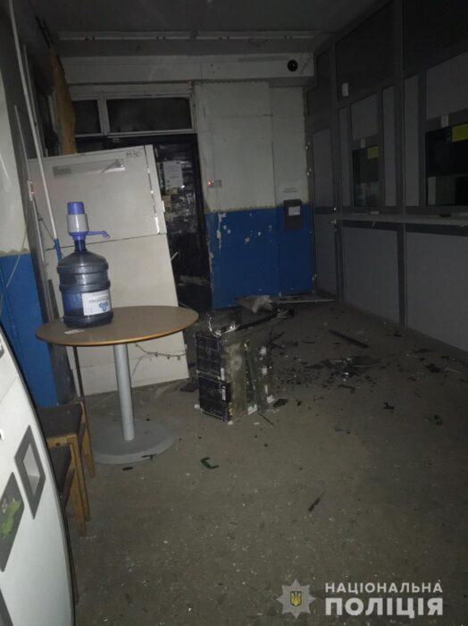 В Харьковской области неизвестные подорвали банкомат