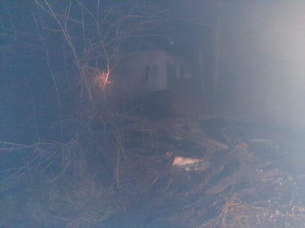 В Харькове горела дача