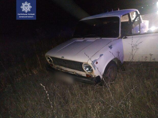 На Салтовке пьяный мужчина угнал автомобиль и убегал от патрульных