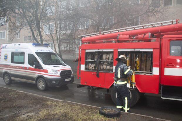 В Харьковской области на пожаре в жилой многоэтажке погиб маленький мальчик