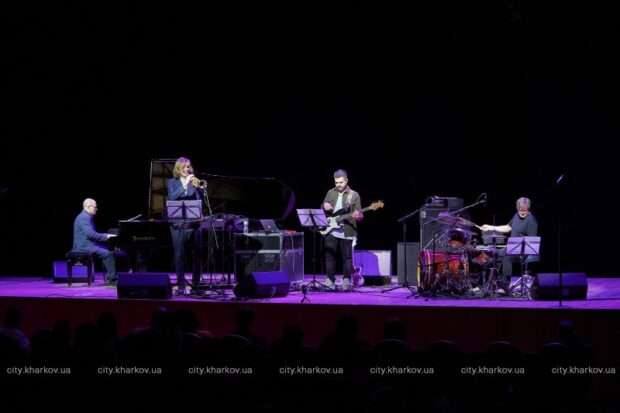 В Харьковской филармонии прошел концерт джазовой музыки